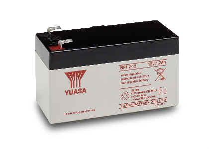 Μπαταρία YUASA 1.2Ah 12v NP1.2-12