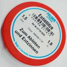 27161500 ΣΥΡΜΑ  ΑΠΟΣΥΓΚΟΛΛΗΣΗΣ 1,5mm 1.6m Klappsule