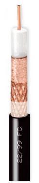 Καλώδιο CAVEL 22/99FC (500μ) Διπλά Θωρακισμένο Διάμετρος : 12,70mm Aγωγός : 2,20mm