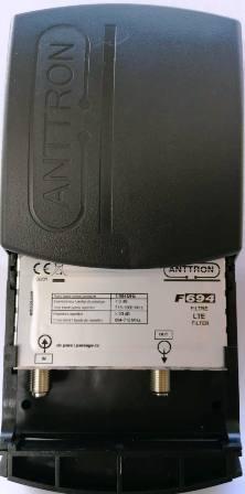 ANTTRON F694 LTE 5G Filter Pass band 1-694MHz εως 48 κανάλι ΕΞΩΤΕΡΙΚΟΥ ΧΩΡΟΥ