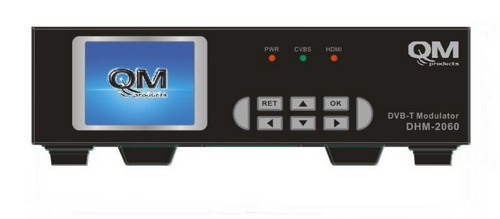 QM DHM-2060 1xHDMI & 3xRCA σε DVB-T (H.264) MODULATOR