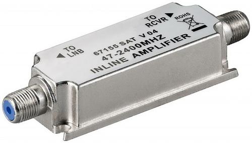 Ενισχυτής γραμμής TV-SAT 47 - 2400MHz 20dB
