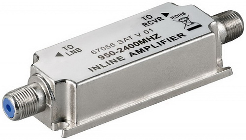 Ενισχυτής γραμμής SAT 950-2400MHz 20dB