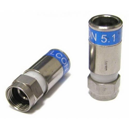 CAVEL FC703SL = F-56-CX3 F Βύσμα συμπίεσης (για SAT50, SAT703, KF114, DG113, RP61B, SAT752, RP913, TS703, 11/50)