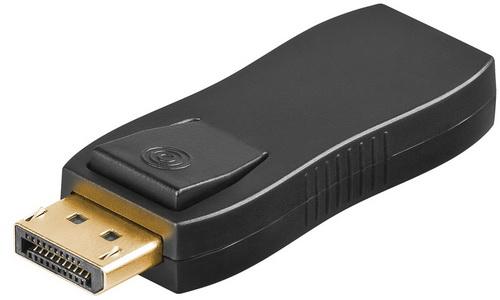 Adapter DisplayPort 1.2 αρσενικό με ήχο σε HDMI θηλυκό (Τύπου Α)