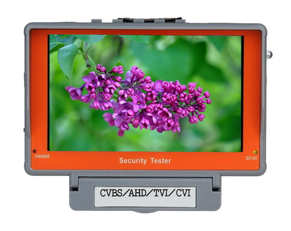 "TESTER Καμερών HD 5"" ANGA C-IV5ATC  5MP-Φορητό monitor ελέγχου & δοκιμής, καμερών ασφαλείας συμβατό με AHD /TVI / CVI/ CVBS"