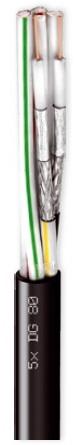 Καλώδιο CAVEL 5xDG80 (100μ) Διάμετρος : 5,00mm x 11,00mm Aγωγός : 0,80mm