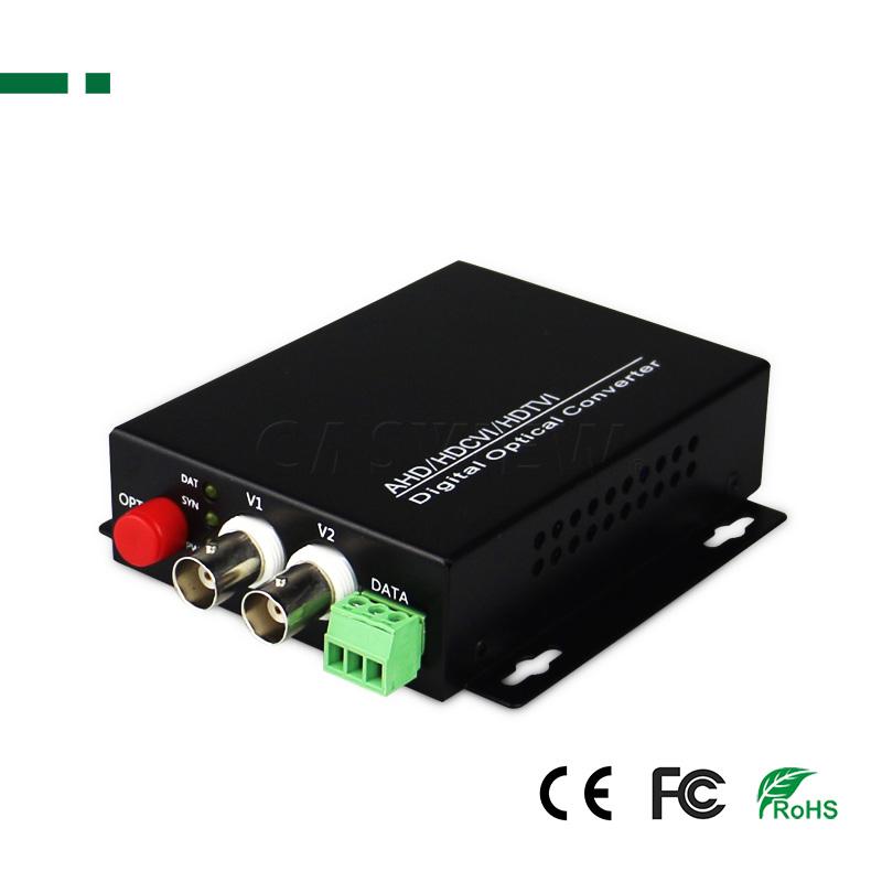 PS-HD2V-1080P ΜΕΤΑΤΡΟΠΕΑΣ ΑΠΟ OPTICAL ΣΕ HD-AHD/CVI/TVI OPTICAL TRANCIVER