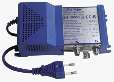 832112 SPAUN SN15/500 Τροφοδοτικό 15V/500mA/6w
