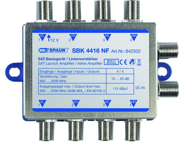 842502 SPAUN SBK4416NF Ενισχυτής επέκτασης 1 Δορυφόρου