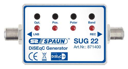 871400 SPAUN SUG22 Γεννήτρια παραγωγής εντολών DiSEqC