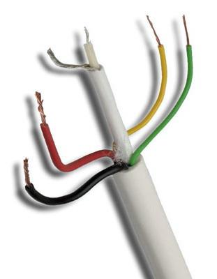 ANGA ST-CC02 Καλώδιο CCTV 1 x mini RG59 + 2 x 0.50mm + 2 x 0.22mm (100μ) CU/PVC