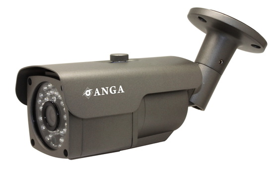 K����� ANGA AQ-2906SM 1/3 CMOS, Pixelplus PC1099, ������ ��������, ����� 3.6mm, 900TVL �� IR-CUT, IR Led 5X36PCS, 30 �����, ��������� IP66, 12V ���������, ����� �����: 490gr