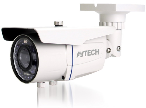 K����� AVTECH AVT1205T TVI 1/2,7 CMOS 1080P, ����� 2.8 - 12mm, �R Led 36PCS, 25 �����, ��������� IP66, 12V, 1Alarm In, 1 Alarm Out, M��������, ����� �����: 420gr