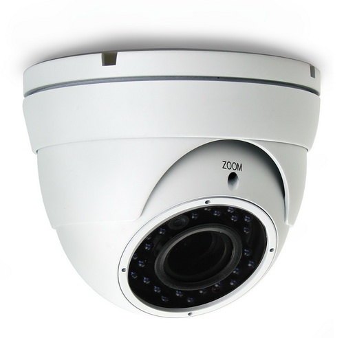 K����� Dome AVTECH AVT1206TP TVI 1/2,7 CMOS 1080P, ����� 2.8 - 12mm, �R Led 24PCS, 20 �����, ��������� IP66, 12V, 1Alarm In, 1 Alarm Out, M��������, ����� �����: 648gr