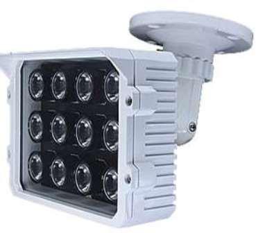 ΠΡΟΒΟΛΕΑΣ PS-150K1 12pcs*3W Matrix Infared Light εξοδος 36W 12-24W 90o ΓΩΝΙΑ