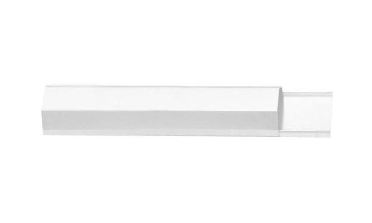 BRATECK Κανάλι Καλωδίων CC05-50 Αλουμινίου 1.6m, Σε λευκό χρώμα