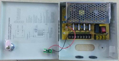 Σταθεροποιημένο τροφοδοτικό 12V / 3A / 36W, 4 εξόδων, ANGA CP1209-3A-4