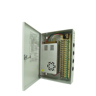 ANGA CP1209-40A-18  DC12V 40A output, fused 18ch power supply