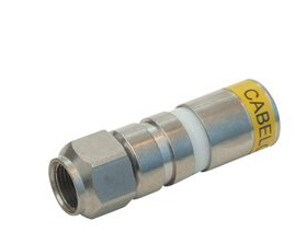 CAVEL FC11 F COMPRESION CONNECTOR (για DG163, TS11J, CATV11, RG11FC, 17/73FC)