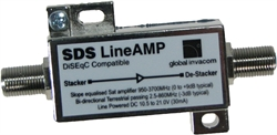Global Invacom SDS Ενισχυτές Γραμμής 65 μέτρα max για DiSEqC Stacker/De-Stacker Switch