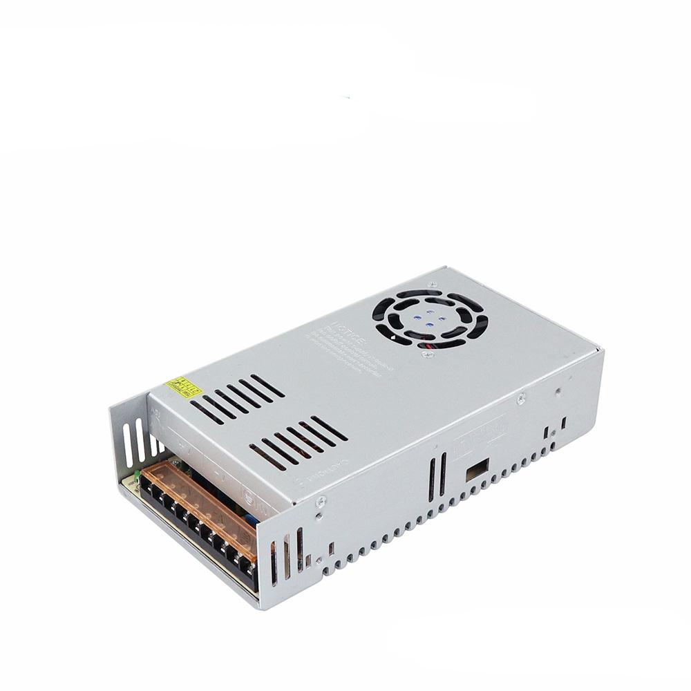 ANGA S-300W-5 ΤΡΟΦΟΔΟΤΙΚΟ LED, Rated Power: 300W, Output Voltage: 5V, Output Current: 0-60A, AC INPUT: 8-264VAC, 198*98*42mm