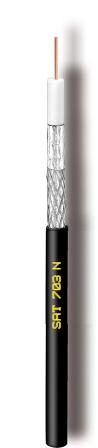 Καλώδιο CAVEL SAT703N Μαύρο(100μ)Διάμετρος : 6,60mm Aγωγός : 1,13mm