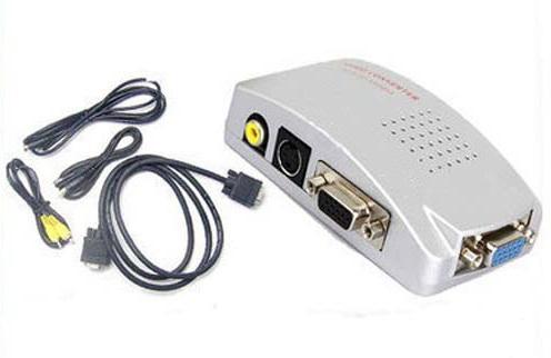 ANGA CVA-3002 VGA �� RCA & S-VIDEO ����������� ������� ��� �� ���������� ���� ������� ��� ���������� �� ���������