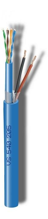 Καλώδιο CAVEL VS540205 (150μ) Διάμετρος : 9,00mm x 7,20mm (LAN540 Cat5e (4x2xAWG24) + 2x 0,50mm)