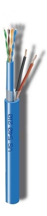 Καλώδιο CAVEL VS540210 (150μ) Διάμετρος : 9,00mm x 7,20mm (LAN540 Cat5e (4x2xAWG24) + 2x 1,00mm)