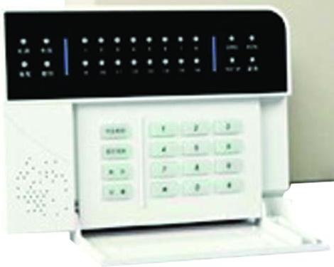 ANGA AG-DK806 Ενσύρματο Πληκτρολόγιο LED 16 Ζωνών για SPARTA 200
