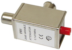 Ρυθμιζόμενος Μειωτήρας 0-20dB TV  RF αρσ. σε RF θηλ.