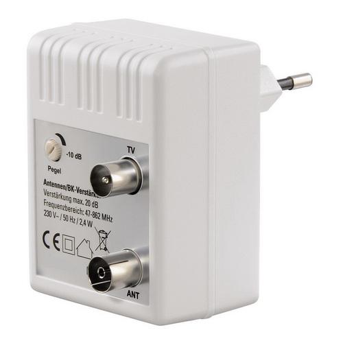 Ενισχυτής γραμμής TV ρυμιζόμενος ενίσχυση 20dB 40-862MHz