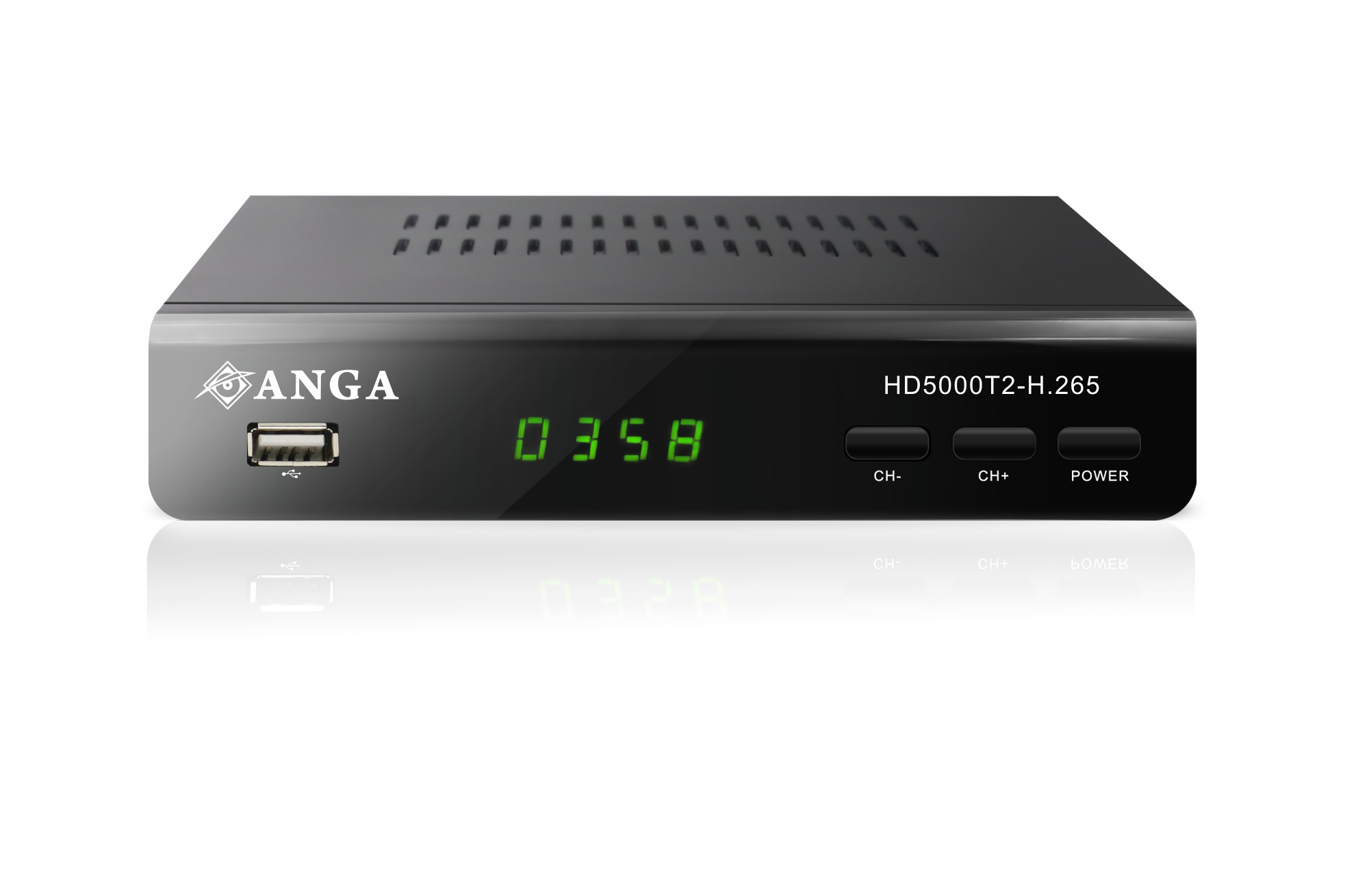 ANGA HD5000T2-H.265 Επίγειος Ψηφιακός Δέκτης