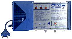 813129 SPAUN HLV40/65FPE Κεντρικός Ενισχυτής & γραμμής Ενίσχυση 40dB/114dBμV Ρύθμιση επιστροφής σήματος και ενίσχυσης εξόδου