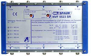 814217 SPAUN NVF5523SR Ενισχυτής επέκτασης 1 Δορυφόρου + Επίγειο