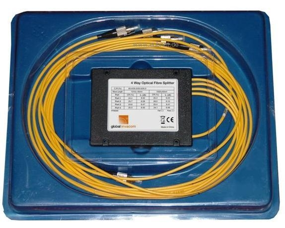 F700255 Global Invacom Splitter 1/4 ΟΠΤΙΚΗΣ ΙΝΑΣ