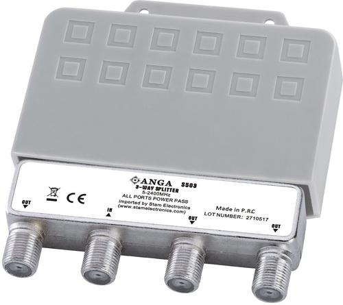 ANGA S503 Splitter 3 Εξόδων ιστού με αδιάβροχη θήκη