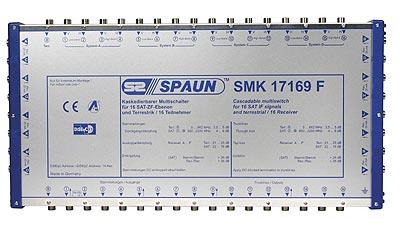842424 SPAUN SMK17169F Επέκταση για 4 Δορυφόρους + Επίγειο με 16 εξόδους