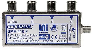 871436 SPAUN SMR410F μίκτης με δυνατότητα ένωσης 4 δορυφόρων