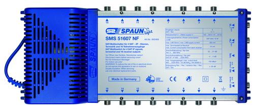 842464 SPAUN SMS51607NF Πολυδιακόπτης 1 Δορυφόρου + Επίγειο σε 16 εξόδους