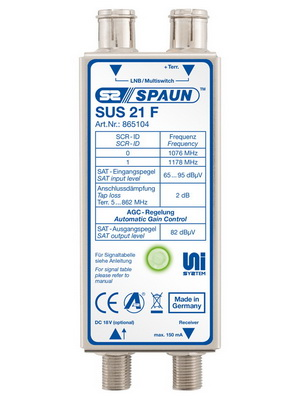 865104 SPAUN SUS21F UNISEqC PLUG SOLUTION