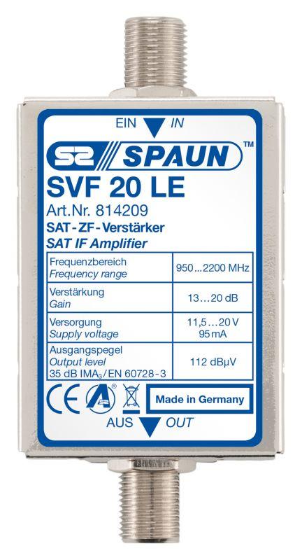 814209 SPAUN SVF20LE Ενισχυτής γραμμής με ενίσχυση 13-20dB