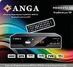 Επίγειος Ψηφιακός Δέκτης ANGA HD5000 3D-T2 High Definition, Με νέο εύχρηστο τηλεχειριστήριο 2:1 για χειρισμό και της TV, χάρη στην εύκολη διαδικασία εκμάθηση Auto Learn