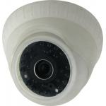  Dome AVTECH AVC153P 1/3 CCD  ,  3.6mm, 0.1 Lux, F2.0, 700 , 21 IR Led  15 , , 12V