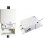 Ενισχυτής Ιστού Power Plus Master 3 Μίας εισόδου UHF 38dB/102dBμV & Μίας εξόδου με ενσωματωμένο φίλτρο 4G LTE