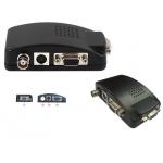 Power Plus CVA-3001 BNC & S-VIDEO σε VGA ΜΕΤΑΤΡΟΠΕΑΣ Ιδανικό για να προβάλεται σήμα εικόνας από Κάμερα ή DVR σε Monitor ή Tηλεόραση