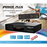 Power Plus HD801S HD, Ψηφιακός δορυφορικός δέκτης HD FTA, HDMI, USB