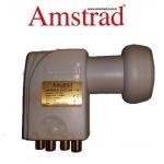Amstrad Quad LNB F-40 0.1dB