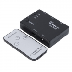 ANGA PS-M303 Επιλογέας HDMI, 3 Εισόδων - 1 Εξόδου με τηλεχειριστήριο (δεν περιλαμβάνει τροφοδοτικό 5V/1A)
